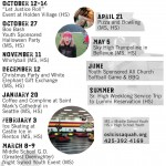 web youth calendar 2012