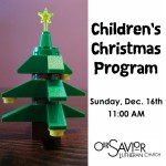 Children&#039;s Christmas Program