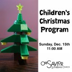 Children's Christmas Program 2013